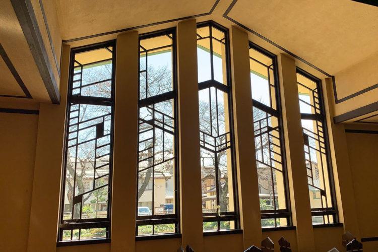 池袋『自由学園 明日館』へ行ってみた! その3「ホール内観」