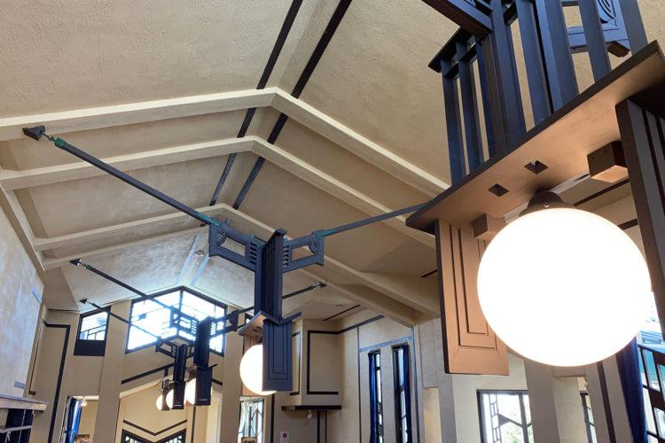 池袋『自由学園 明日館』へ行ってみた! その8「2F食堂・喫茶室」