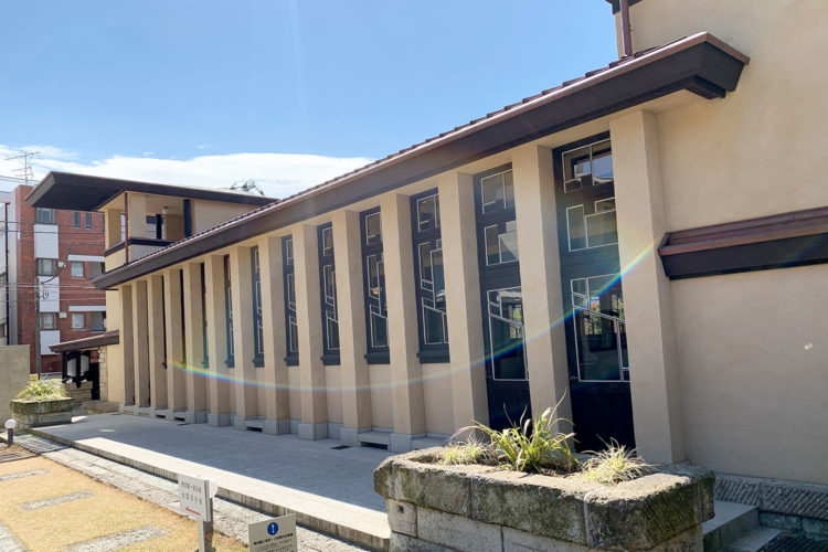 池袋『自由学園 明日館』へ行ってみた! その10「講堂」