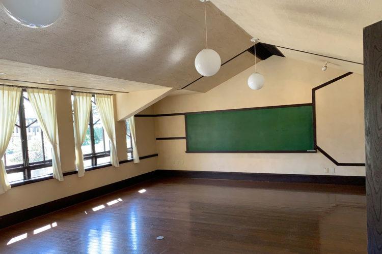 池袋『自由学園 明日館』へ行ってみた! その4「1F教室・廊下」