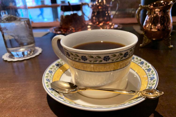 池袋『炭火煎珈琲 皇琲亭』でおいしいコーヒーをいただく。ゆっくり優雅なひとときを