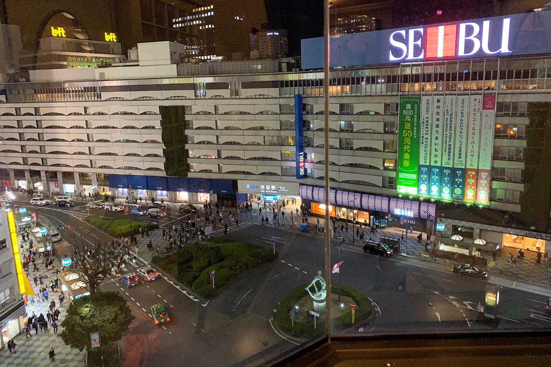 池袋 喫茶店 夜景 駅前 タカセコーヒーラウンジ
