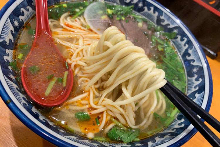 池袋『火焔山 蘭州拉麺』で「蘭州ラーメン(漢方入り)」を食べてみた感想!