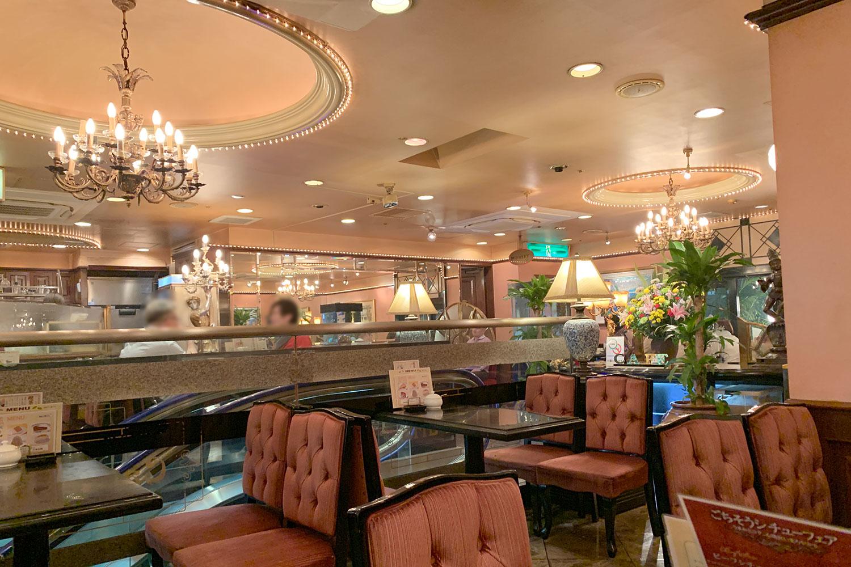 喫茶店 カフェ・ド・巴里 池袋西口店 風景