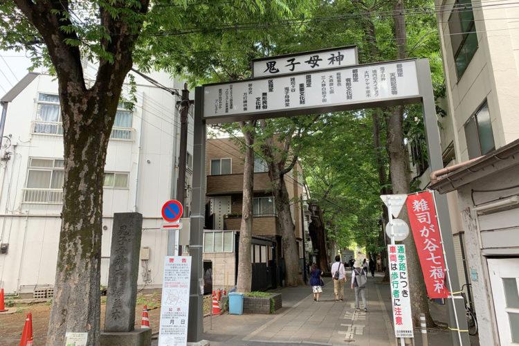 雑司ヶ谷散歩 - 大門ケヤキ並木を歩いてみた