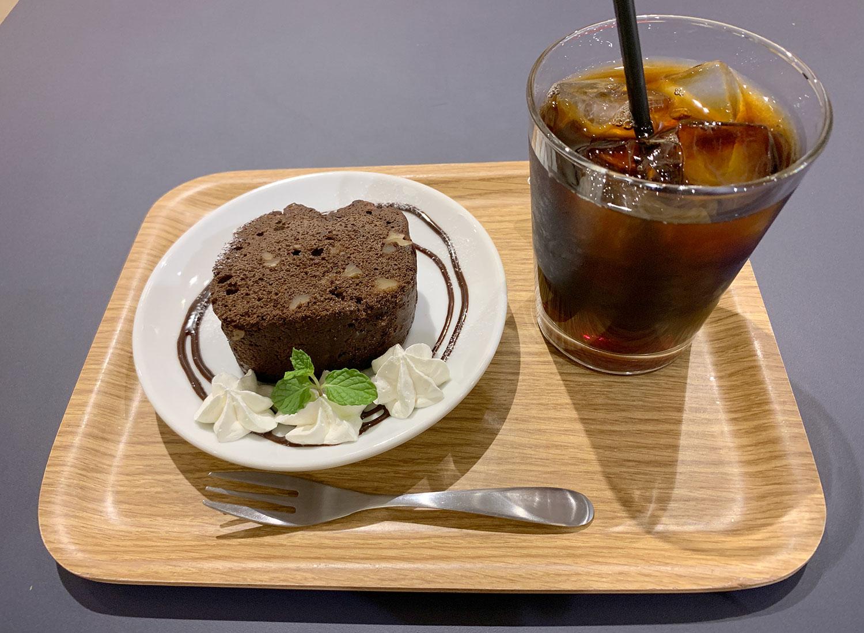 サンシャインシティ 喫茶店 GLOCAL cafe ケーキセット