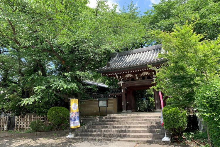 雑司ヶ谷散歩 - 法明寺へ行ってみた