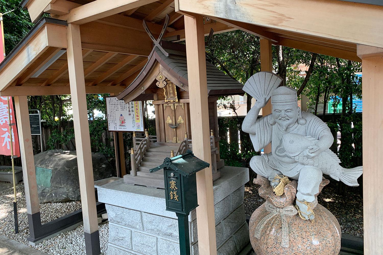 大鳥神社 恵比寿神