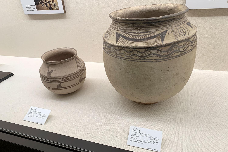 古代オリエント博物館 展示品 鳥文の壺
