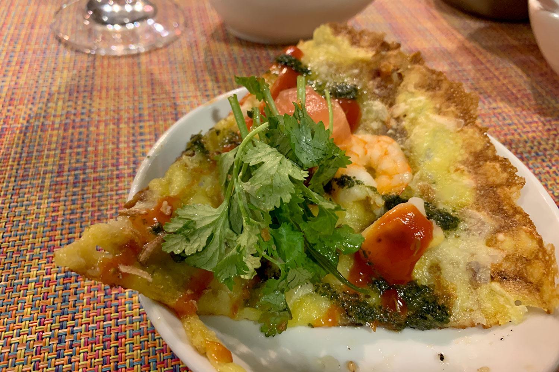 池袋 Asian Bistro Tao チーズバインセオ