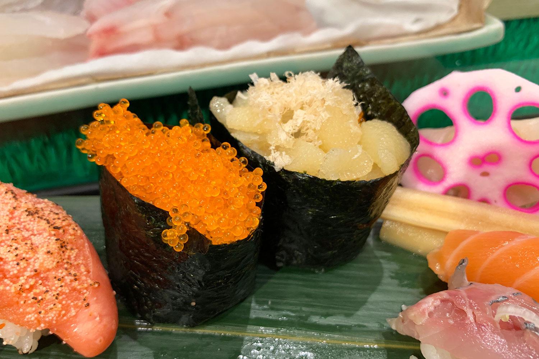 池袋 すしつね 寿司 ランチセット