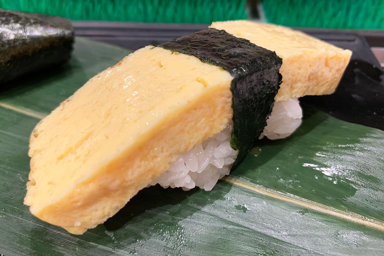 池袋 すしつね 寿司 ランチセット 卵