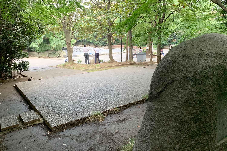永久平和を願って 東池袋中央公園 石碑 平和の碑
