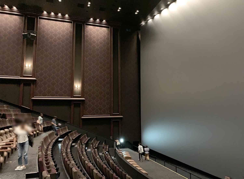 グランドシネマサンシャイン IMAX 巨大 スクリーン 池袋