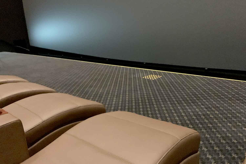 池袋グラシネIMAX フラットシート座席から観たスクリーンの見え方【写真つき】