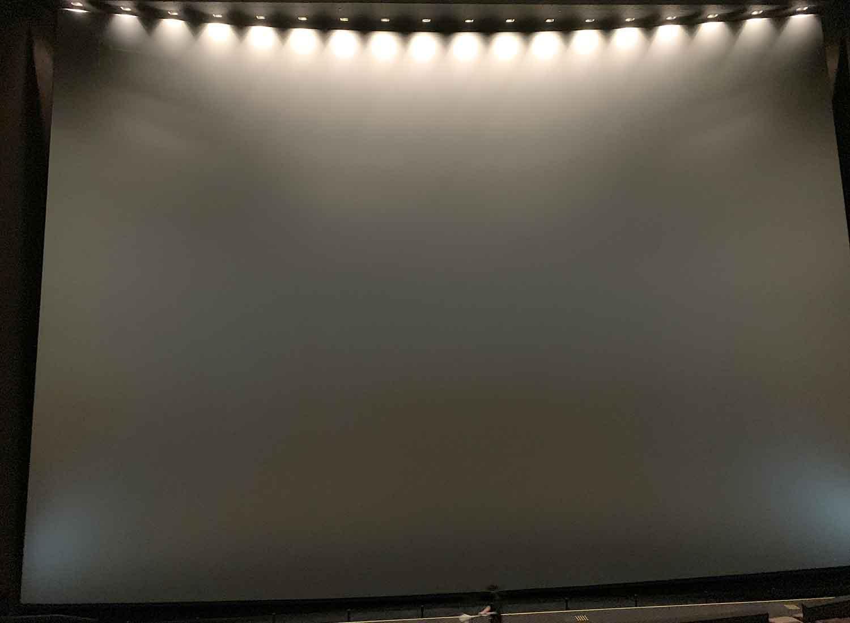 池袋グラシネIMAX プレミアムクラス座席から観たスクリーンの見え方【写真つき】