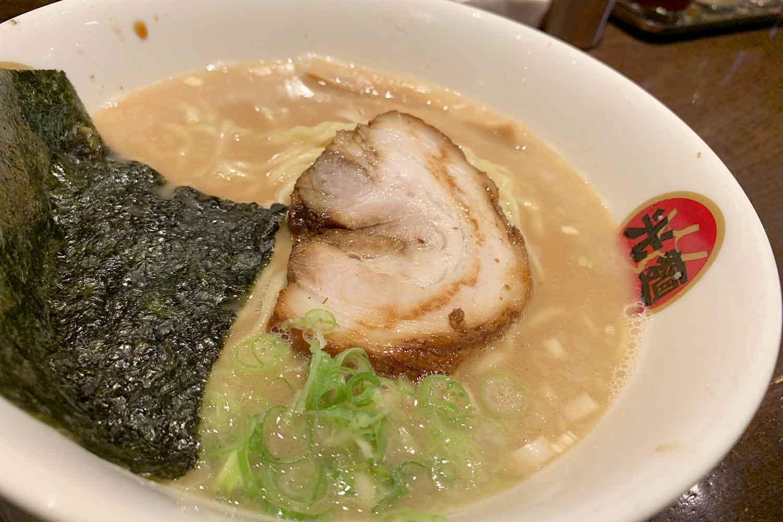 光麺 熟成とんこつらーめん 東京豚骨 池袋本店