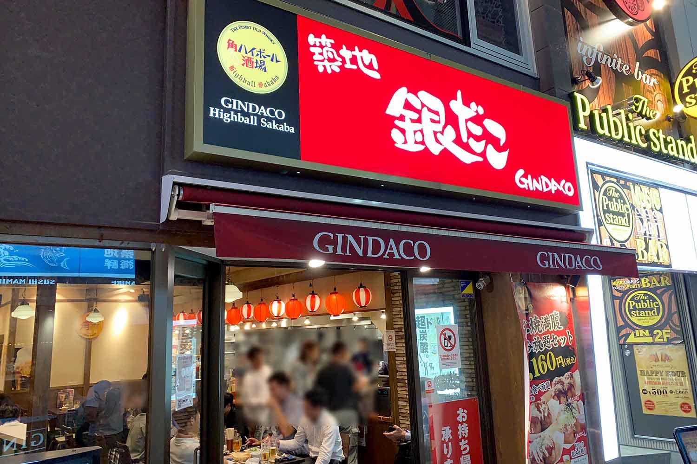 GINDACO酒場 店舗