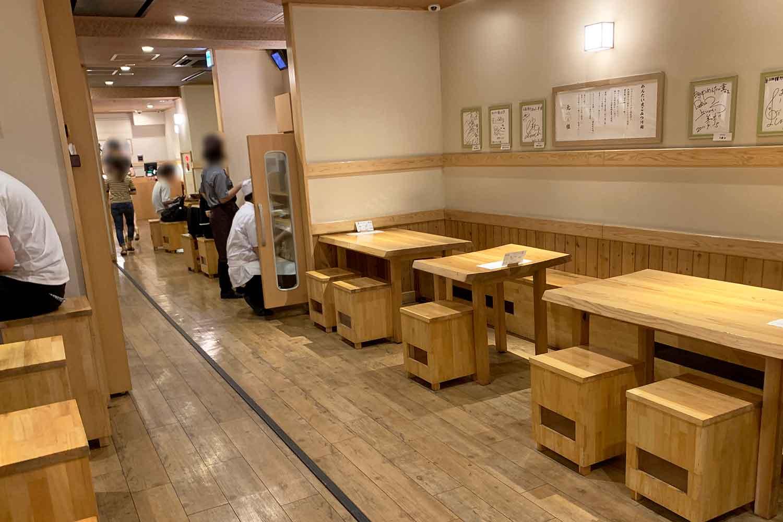 元祖 めんたい煮こみつけ麺 池袋 店舗