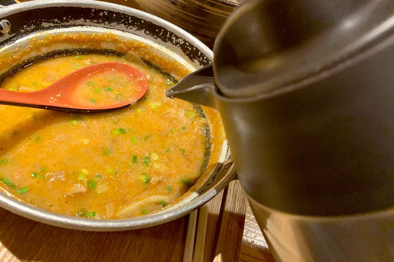 めんたい煮こみつけ麺