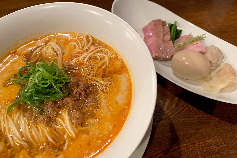 ミシュラン一つ星のラーメン名店『創作麺工房 鳴龍』で至高の「担々麺」をいただく