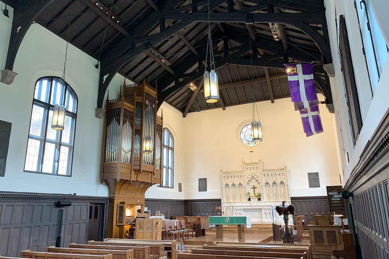 立教大学のチャペル『立教学院諸聖徒礼拝堂』の内観見学に行ってみた!