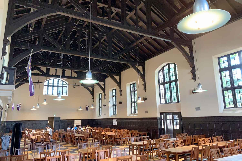 立教大学の『第一食堂』へ行ってみた! 初めての人向けに食券購入~注文~食事までの流れ紹介!