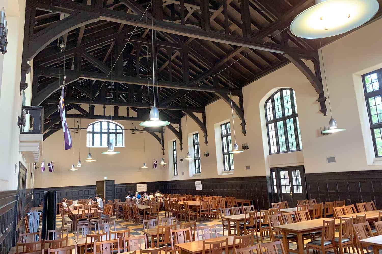 立教大学 第一食堂