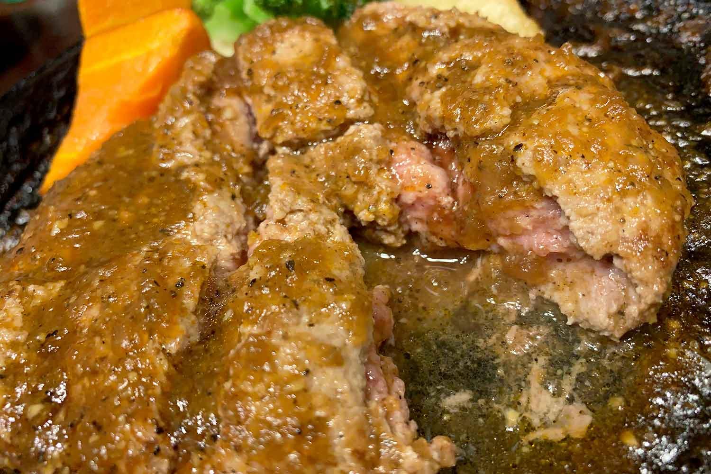 札幌牛亭 ハンバーグ