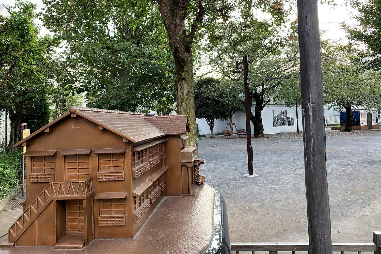 南長崎花咲公園 マンガの聖地としまミュージアム トキワ荘 工事中