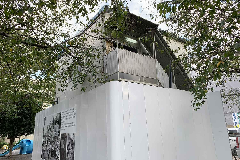 南長崎花咲公園で工事中の「マンガの聖地としまミュージアム(仮称)」の写真を撮影してみた!