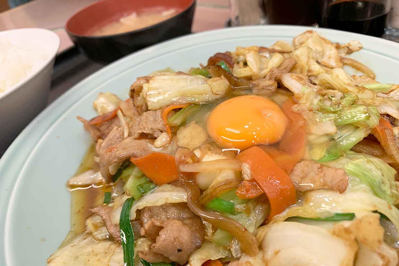 特製タレ焼肉定食 ランチハウスミトヤ