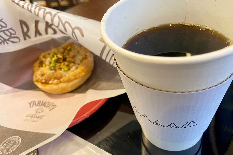池袋の喫茶店ファブリックのブレンドコーヒー