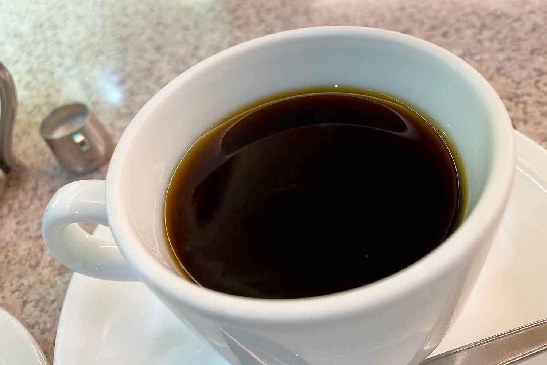池袋西口の喫茶店フラミンゴのブレンドコーヒー