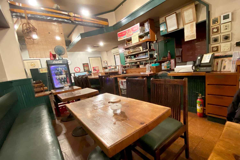 池袋の喫茶店「コーヒーハウスピステ」