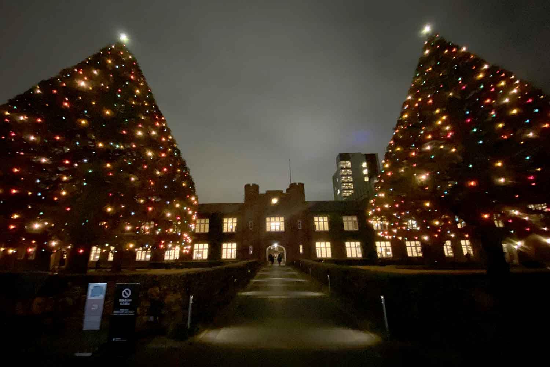 立教大学のクリスマスイルミネーション