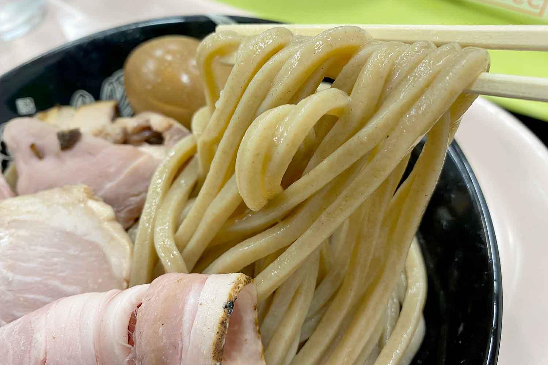 中華蕎麦とみ田の太麵