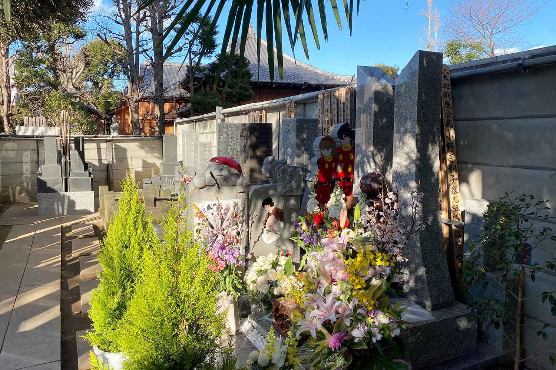 石ノ森章太郎先生のお墓