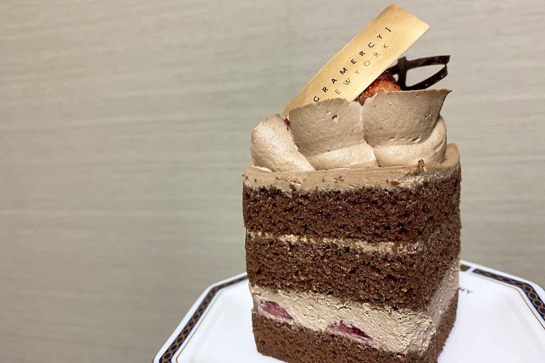 グラマシーニューヨークのケーキ