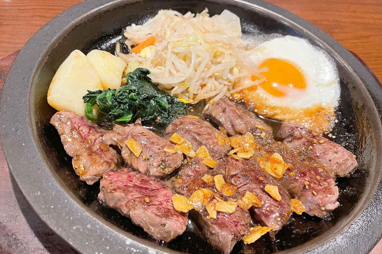 牛の家 肉 鉄板焼き ステーキ