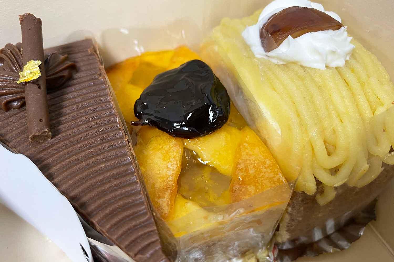 池袋タカセはパンだけでなくケーキも美味しいです!